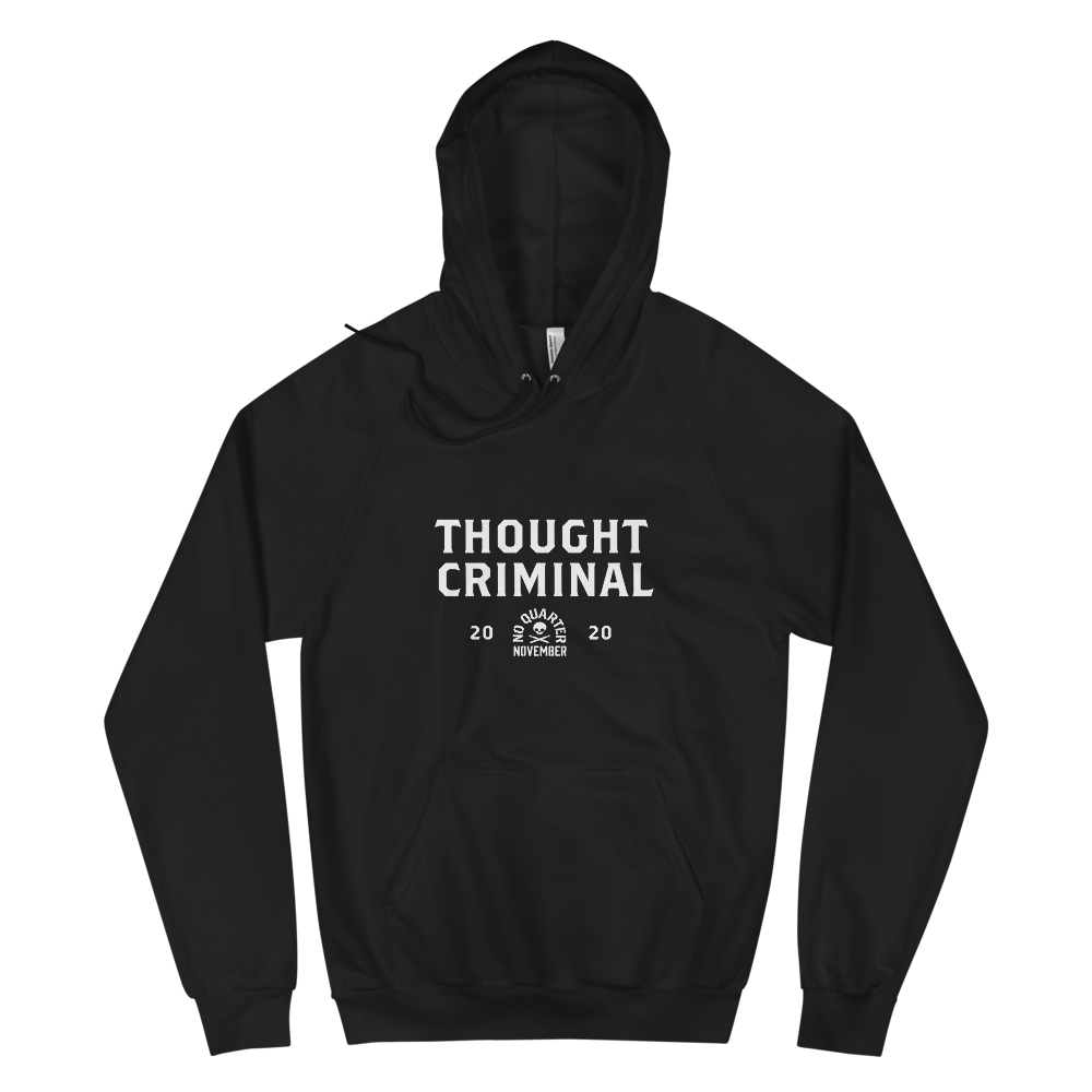 Thought Criminal Hoodie — Mens
