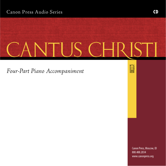 Cantus Christi: Four-Part Piano Accompaniment (1st Edition Cantus)