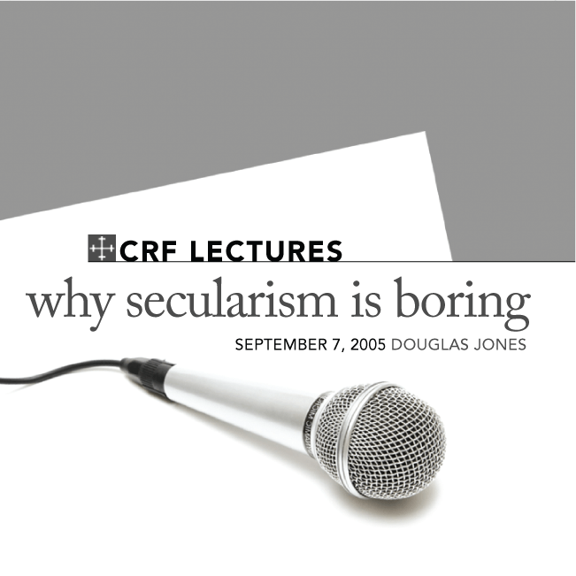 Why Secularism Is Boring