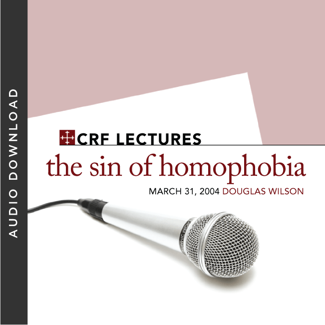 The Sin of Homophobia