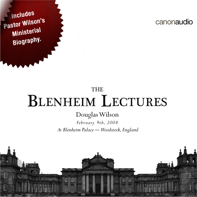 The Blenheim Lectures