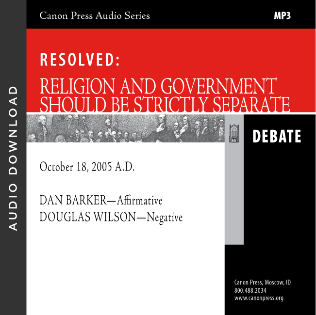 Should Religion and Government Be Separate: A Debate (Audio Download)