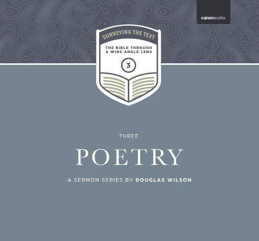 Surveying the Text III: Poetry
