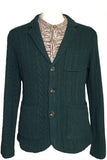 Variegated Cable Wool Jacket