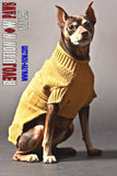 Mixed Novelty Stitch Paws Roll Neck Sweater