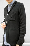 Variegated Cable Cotton Jacket