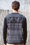 Paisley Roll Neck