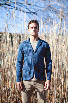 Jacquard Multi Pattern Jacket