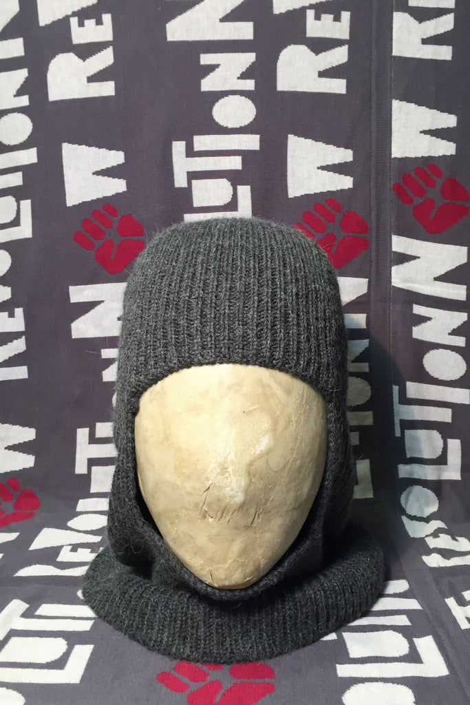 Wool Knitted Hood