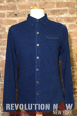 Denim Knitted Shirt