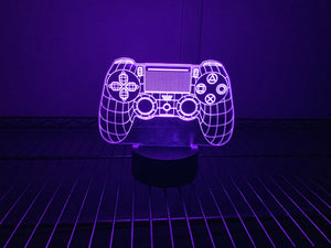 Playstation Inspired Color Changing Acrylic Sign