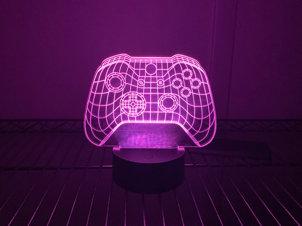 Xbox Inspired Color Changing Acrylic Sign