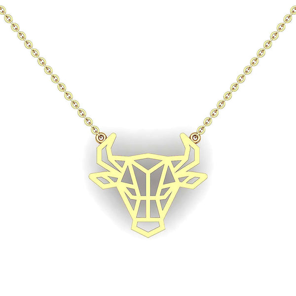 Geometric Animal Zodiac - Ox | Necklaces