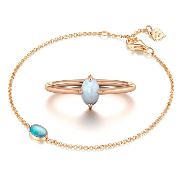 OCEAN'S EYE GIFT SET | Rings