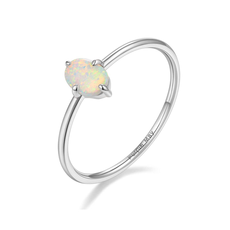 Rose Gold Opal Ring Melbourne | Wedding Bands | Engagement Rings Australia