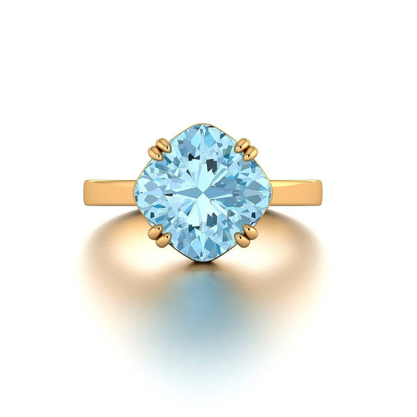 18K SOLID GOLD TOPAZ STATEMENT RING  - Melbourne, Australia