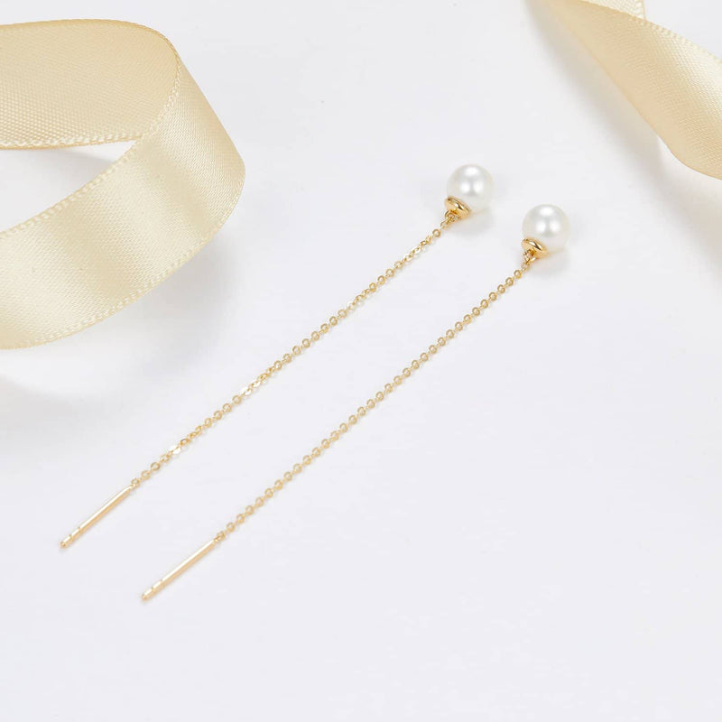 Pearl Dropping Earrings | Earrings Melbourne Australia