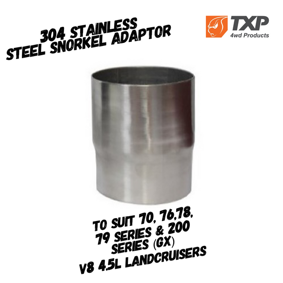 304 Stainless Steel Snorkel Adaptor - TXP Products