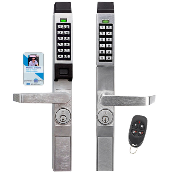Alarm Lock Trilogy Door Access Control Narrow Stile lever - HardwareCapitol