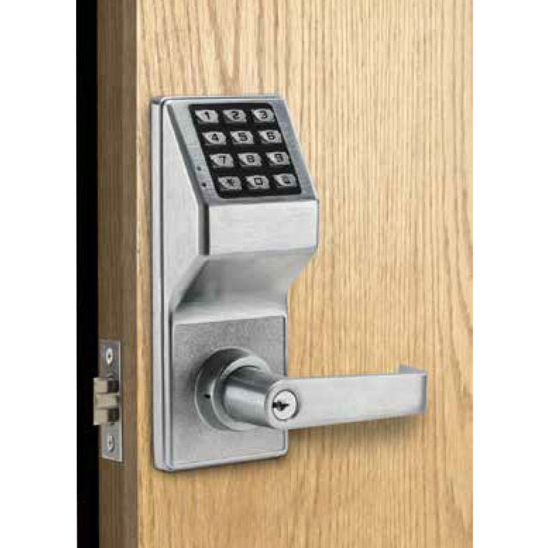 Buy Alarm Lock Trilogy® T2 LOCKDOWN Digital Cylindrical Keyless Pushbutton Door Lock - OrchardLock.com