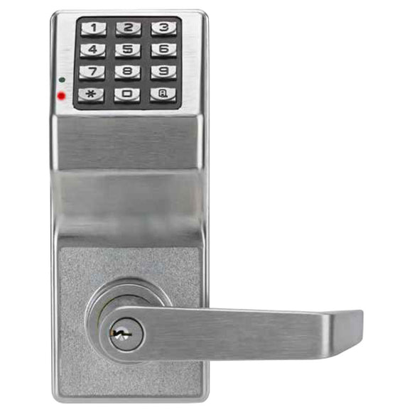 Alarm Lock Trilogy® T2 LOCKDOWN Digital Cylindrical Keyless Pushbutton Door Lock - HardwareCapitol