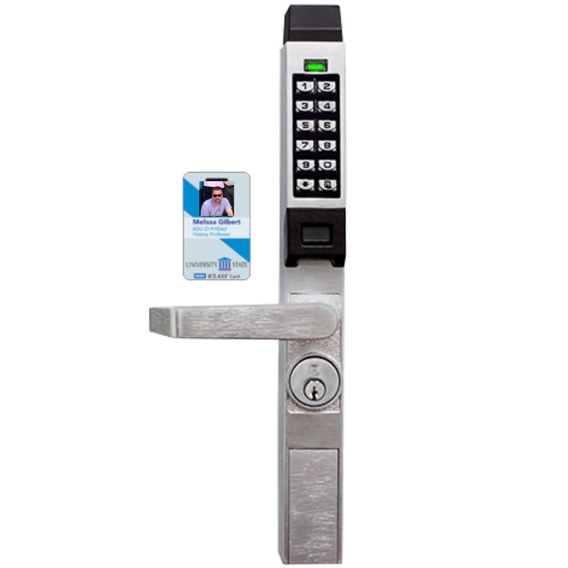 Buy Alarm Lock Trilogy Door Access Control Narrow Stile lever - OrchardLock.com