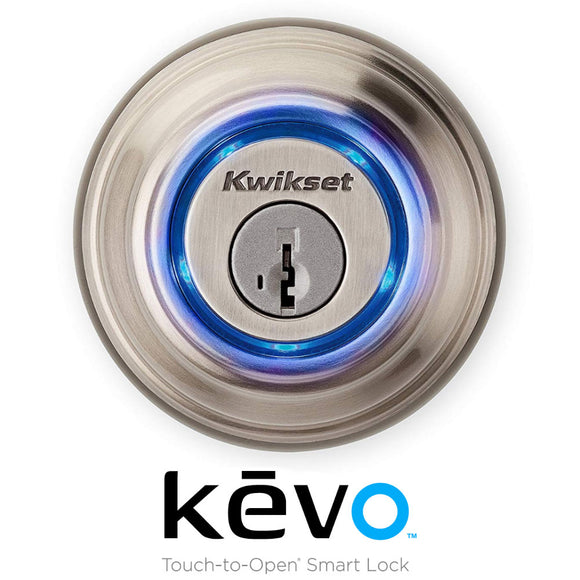 Kwikset KEVO 2nd Generation Smart Lock - Satin Nickel Finish - HardwareCapitol