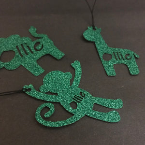 Animal Shaped Personalised Gift Tags