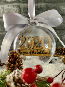 2020 Spherical Keepsake Bauble