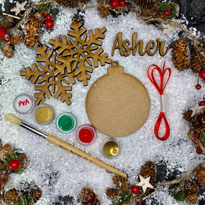 Christmas Bauble Craft Kits