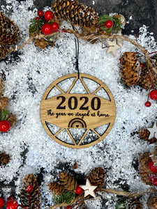 2020 Wooden Keepsake Bauble