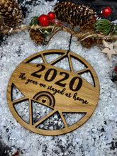 Load image into Gallery viewer, 2020 Wooden Keepsake Bauble