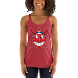 The Chief Ladies' Triblend Racerback Tank