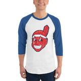 Chief Tito 3/4 sleeve raglan shirt