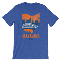 Cavs Skyline Short-Sleeve Unisex T-Shirt