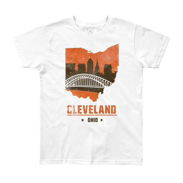 Browns Skyline Youth Short Sleeve T-Shirt