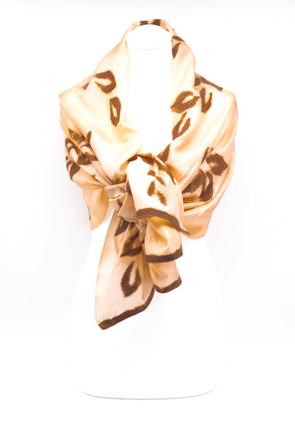 "UNIQUE ""LORA "" EVENING SILK SCARF"