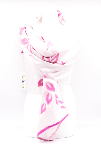 "UNIQUE ""ABIGEL "" EVENING  SILK SCARF"