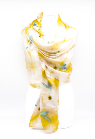 "UNIQUE ""JANNA ""EVENING  SILK SCARF"