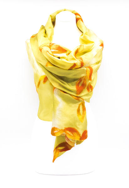 "UNIQUE ""AURITA""  EVENING SILK  SCARF"