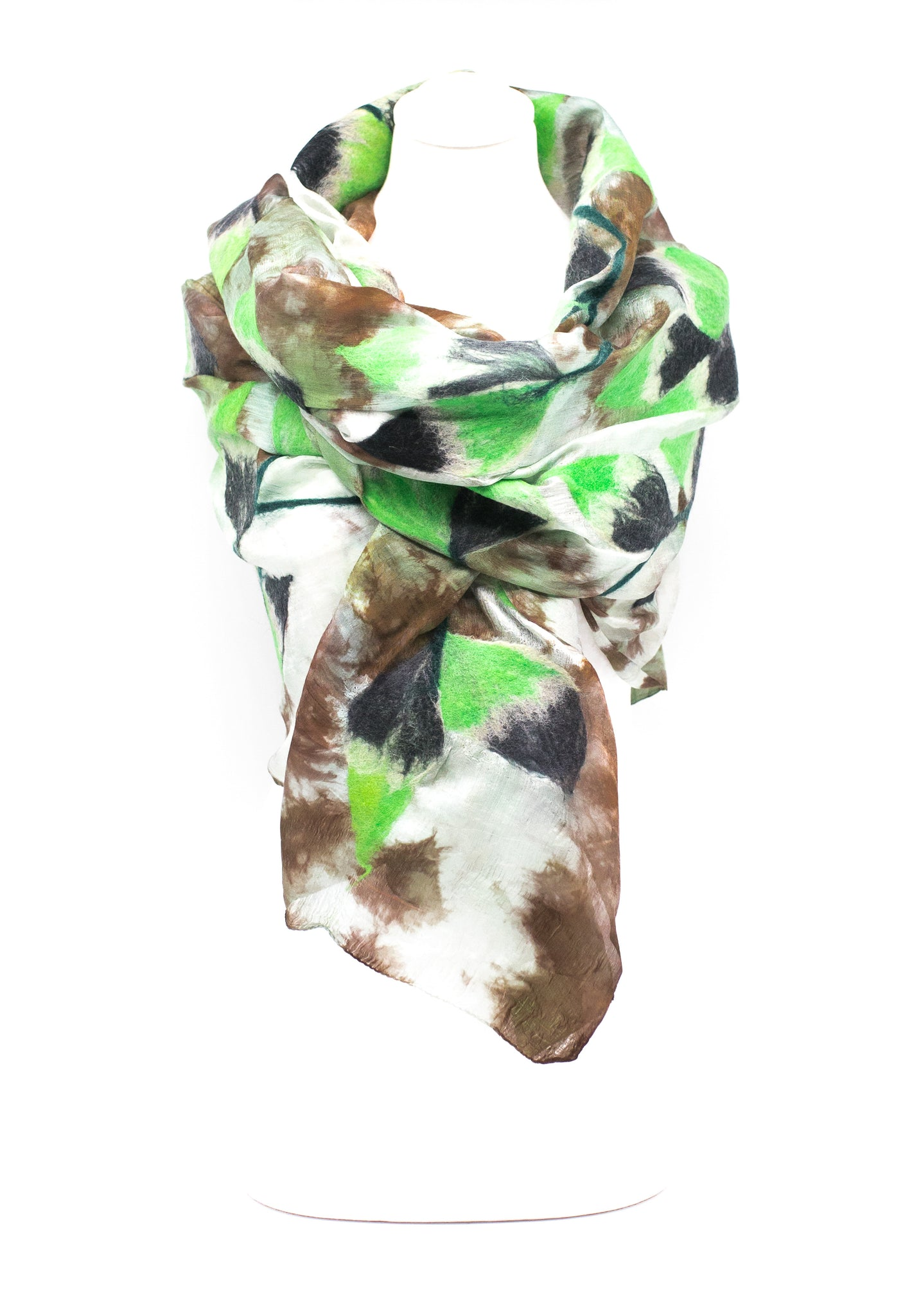 "UNIQUE ""AGIN""   EVENING SILK SCARF"