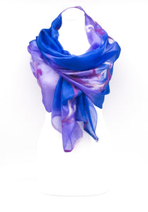 "Unique ""ARDARA"" Handmade Daily Silk Scarf"