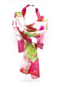 "UNIQE ""ADEL "" EVENING SILK SCARF"