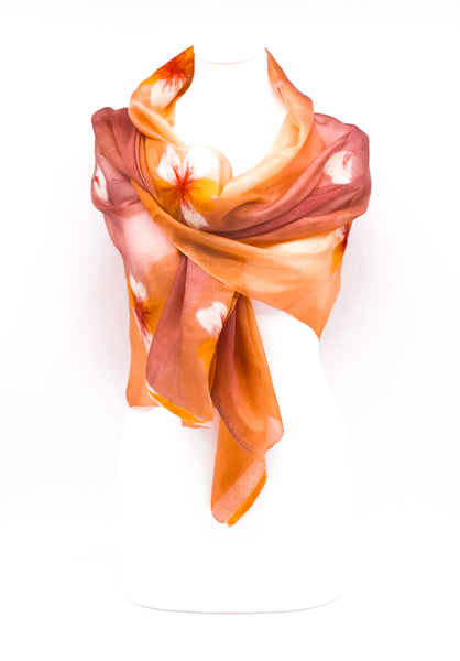 "Unique ""APRIA "" Handmade Daily Silk Scarf"