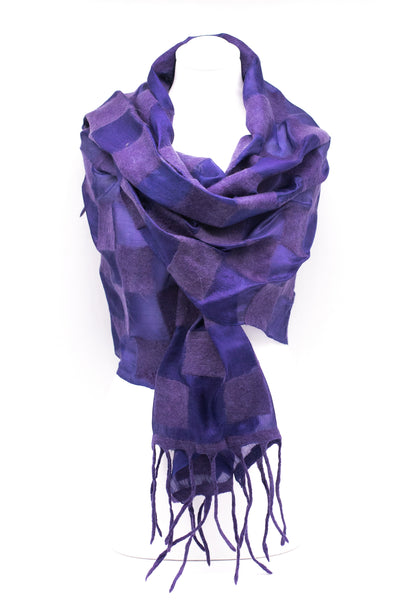 "UNIQUE "" AVELIN"" EVENING  SILK SCARF"