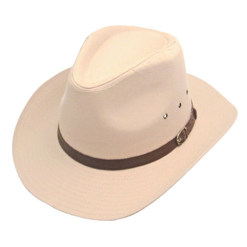 Elite Wide Brim Cowboy Hat Cream