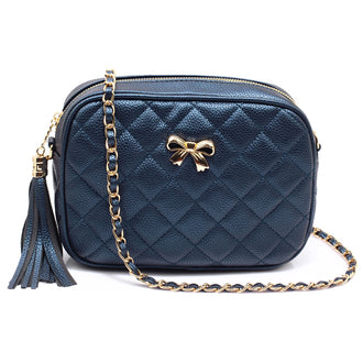 Alla Navy Cross Body Bag