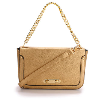 Azora Gold Cross Body Bag