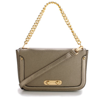 Azora Grey Cross Body Bag