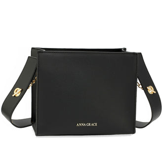 Black Anna Grace Fashion Bag